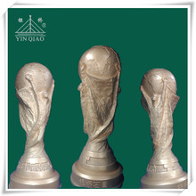Household decoration plaster statues of the World cup