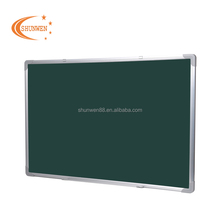 Most Popular Modern Design Aluminum Frame Decorate blackboard Moving Enamel Green Board for School