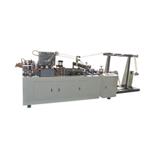 Fully automatic high speed paper bag handle making machine