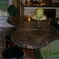 Pre cut Baltic brown eyes granite kitchen countertop