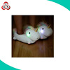 Hot sell winter indoor slipper LED lights soft stuffed plush unicorn slippers