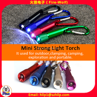 Custom LED Promotion Keyhain High Quality Metal LOGO LED Keychain Flashlight