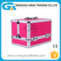 Aluminum Tool Case/Vanity Box With Compartment