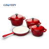 China supplier top quality cast iron non stick pots