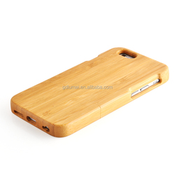 Hard synthetic slim wood bamboo case cover for iPhone 5/ 5s