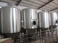 1000L draught brewing equipment Microbrewing unit Beer washing equipment for sale