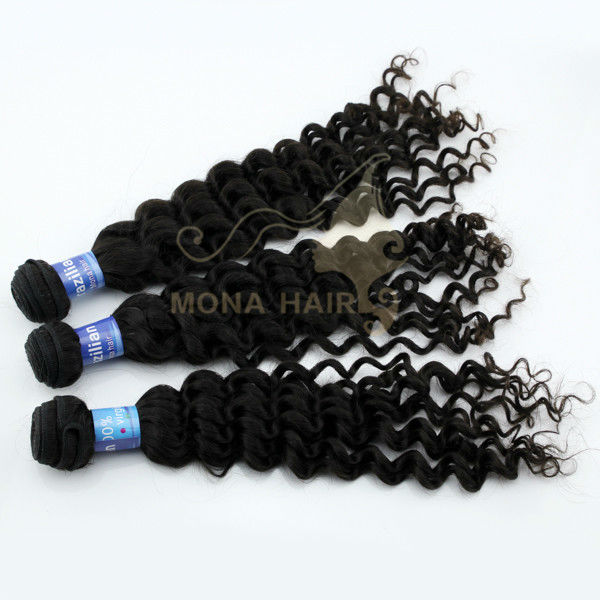 Good after service good feedback 5a virgin brazilian wavy hair curly virgin hair cheap human hair