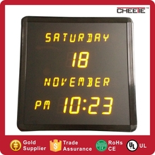 Newest Customized Setting Your Logo Design Decorative Digital LED Table Calendar