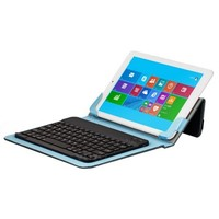 10.1 inch Tablet PC Leather Case with Separable Bluetooth Keyboard and Holder