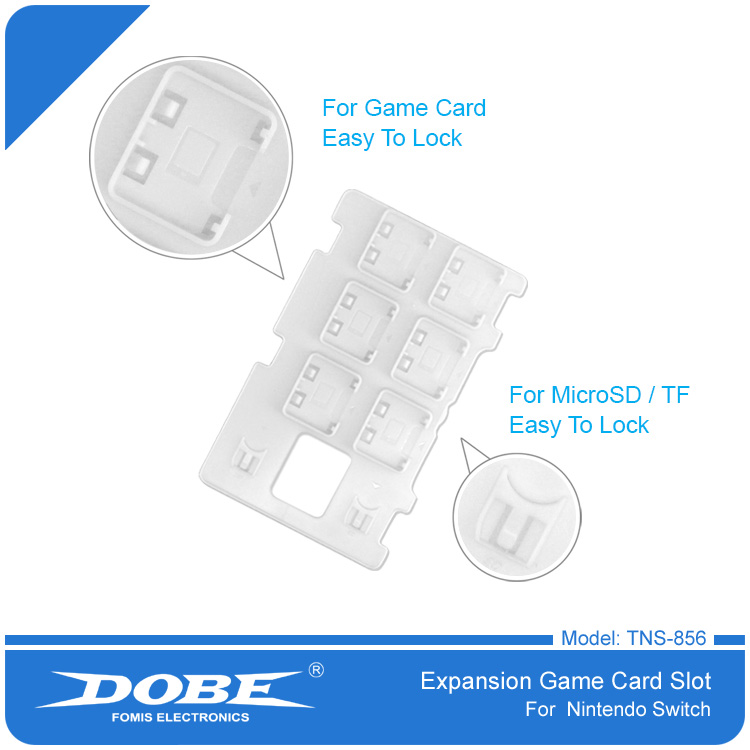 DOBE Expansion Game Card Slot Storage Box for Nintendo Switch Game Card Case