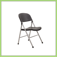 Popular Steel Restaurant Chair Plastic Seat And Back