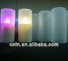 fashion color changing led decoration flameless candle wholesale