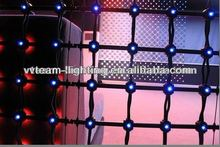 creative Soft and Moving LED curtain wall for night club decoration