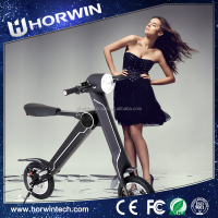 New type 350W electric foldable bycicle from Horwin