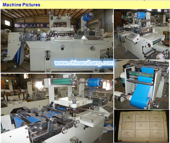 board die cutting plate cutting machine, flate die cutter