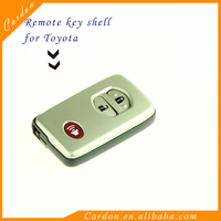 Smart Remote Key Shell Case Fob 2+1 Button for TOYOTA 4Runner Land cruiser Prius covers
