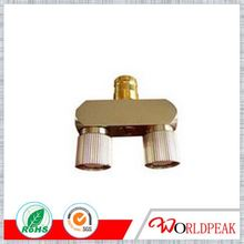 1.6/5.6 DIN Connector Male to Female Y Shape U-Link Adaptor