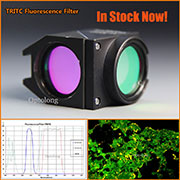 In Stock!! Fluorescence YFP imaging filter for fluorescence microscope