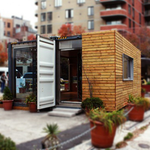 Portable shipping container coffee shop restaurant for sale