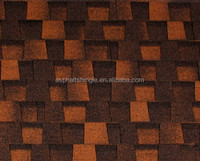European Prefab House Exterior Wall Asphalt Roof Tile