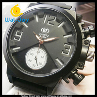 2014 latest vogue fancy led rubber band QF brand men smart watch(WJ-2302)