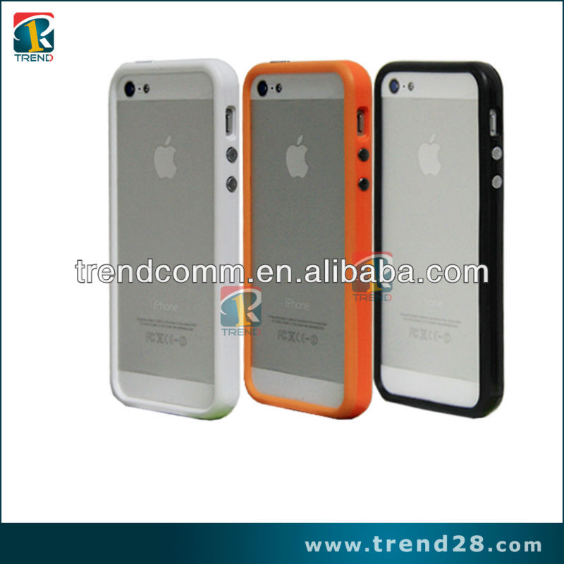 high quality promotion hard plastic bumper case for iphone 5
