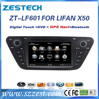 "ZESTECH wholesale 2din 7"" touch screen car radio for Lifan X50 car dvd gps with bluetooth TV tuner 3g radio AM FM"