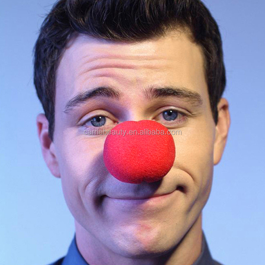Promotional Christmas Party Red Clown Nose Sponge Nose