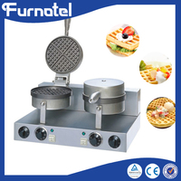 Threaded Handle Industrial Waffle Maker Shapes Price