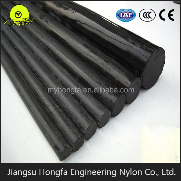 Factory supplier MC nylon rod hard rubber rod