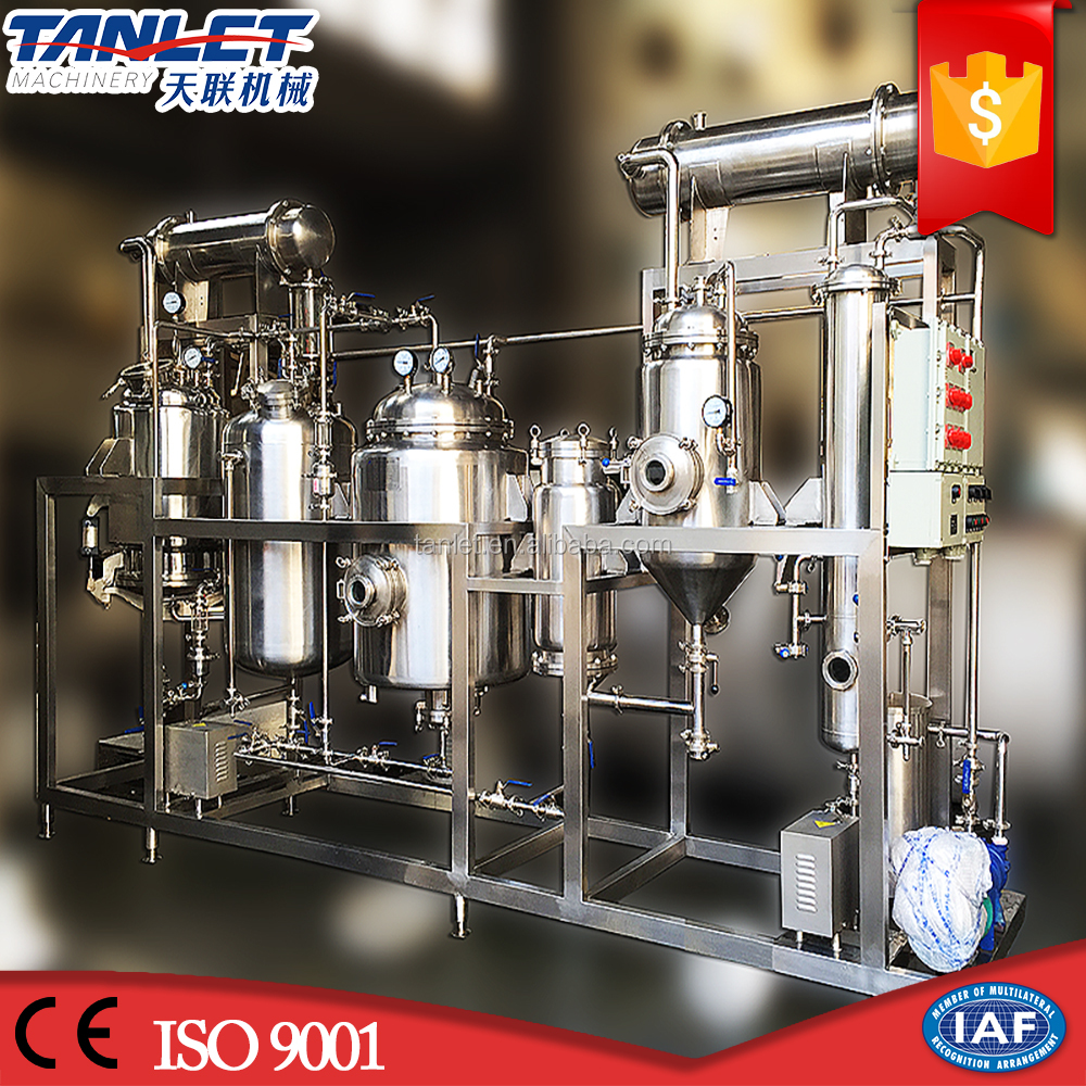 multifunctional stainless steel extraction concentrator unit