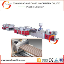 china pvc wood plastic composite wpc door panel extrusion production line
