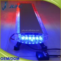 12v 288w white amber red blue emergency strobe light for vehicle used police light bars