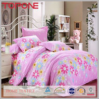 Elegant lovely colorful zhejiang oem wholesale bright color cotton fancy bed sheets