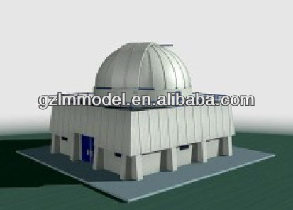 3d Astronomical observatory scale model making