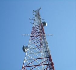 Steel Communication gsm 3 Legged Tubular Towers with low price