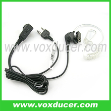 [EV1702-K]Vox ptt throat headset with 2 pin jack for Kenwood, Baofeng UV-5R two way radio