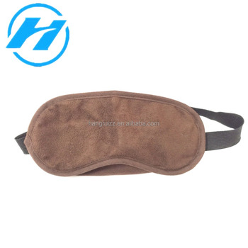For Travel, Air Comfortable Suede Fabric Sleeping Eye Mask