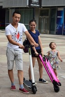 Best 200mm Wheels Double Suspension Urban Scooter Kick For Adults