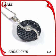 ball pendant 925 black gold jewellery pendants and charms