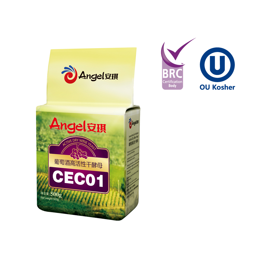 Angel Active Dry Wine Yeast--CEC01 for red wine and white wine
