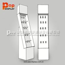 solar lighting pop cardboard advertising display stands