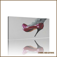 Hot sales modern woman high-heeled shoes picture of beautiful painting