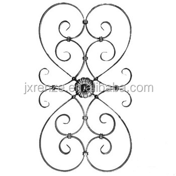Ornamental Wrought Iron Gate Part