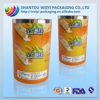 Moisture Proof Feature food packaging plastic roll film packaging for biscuit
