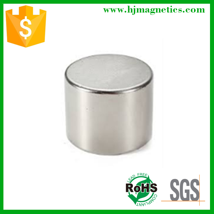Neodymium magnet 25mm cylindrical magnet