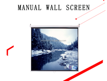 "120"" 4:3 manual roll up projector screen"