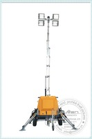 Mo-806 Hydraulic telescopic mobile vehicle-mounted light towerif diesel fuel