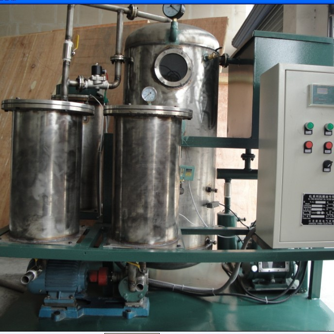 CHINA KL automation multi-function used fire -resistent oil filter Vacuum Oil Filtration