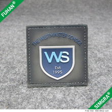 High Grade Eco-friendly Hoop and Loop PVC Rubber Labels